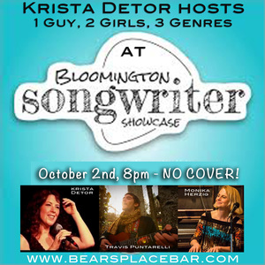 Krista Detor hosts Bloomington Songwriter039s Showcase