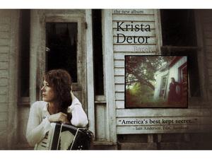 Krista Detor with Martin Denzin