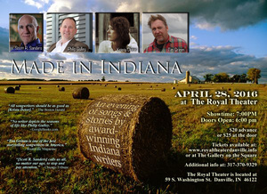 Made In Indiana An Evening with Scott Russell Sanders Tim Grimm Phillip Gulley amp Krista Detor