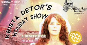 Krista Detor039s Holiday Show  FREE TICKETED LIVESTREAM from Europe