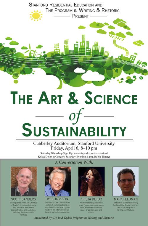Arts amp Sustainability Stanford University 2011