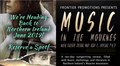 A Return to Music in the Mournes with Krista Detor amp Dr Rod C Taylor